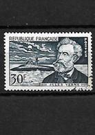 1661 Cinquantenaire De La Mort De Jules Verne YT 1026 Oblitéré - Usados