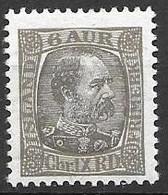 1902 Iceland Mint Hinged * 20 Euros - Nuevos