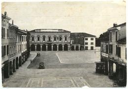 RUSSI (RAVENNA) - Piazza Domenico A Farini (rovinata In Basso, Taglio E Buco) - Ravenna