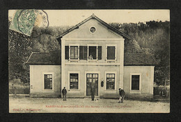 52 - HARRÉVILLE-les-CHANTEURS - La Gare - Vue Extérieure - 1907 - Altri Comuni
