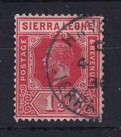 Sierra Leone: 1921/27   KGV     SG133     1½d    Used - Sierra Leone (...-1960)