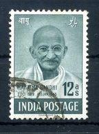 1948 INDIA GANDHI N.5 USATO - Gebraucht