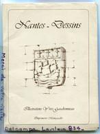 - 16 Grand Dessin De Nantes - Illustrations D'Yves Gaudronneau, Splendide, Imprimerie Miniquadri, TBE, Scans. - Estampas & Grabados