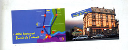 Carte De Visite Hotel Porte De France Taxi  Saint Louis - Visiting Cards