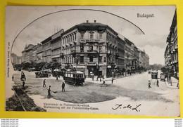 CPA - HONGRIE - BUDAPEST - Váczi-körút és Podmaniczky-utcza. Waitznerring Mit Der Podmanitzky- Gasse - 1903 - Hongarije