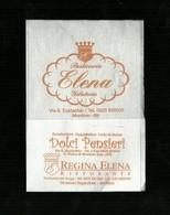 Tovagliolino Da Caffè - Caffè Pasticceria Elena - Montoro I ( Avellino ) - Company Logo Napkins