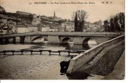 86 Vienne Poitiers CPA Le Pont Joubert Notre Dame Des Dunes 1910 Edifice Crue Histoire Patrimoine - Poitiers