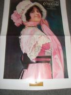 POSTER PUBBLICITARIO COCA COLA -RIPRODUZIONE -BETTY 1914 - Affiches Publicitaires