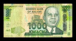 Malawi 1000 Kwacha 2012-2013 Pick 62 BC F - Malawi