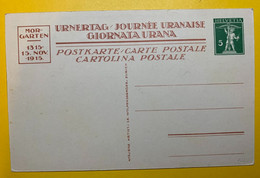 13378 -  No 64 Journée Uranaise  La Pierre Roulée Morgarten  Neuf - Stamped Stationery