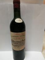 Bouteille Vin Chateau La Garde 1950,appelation Graves Controlés,Louis Eschenauer Propriétaire A Martillac (gironde) - Wine