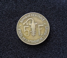 Banque Centrale Des Etats D'Afrique De L'Ouest 5 Francs 1960 CBL Blazor - East Africa & Uganda Protectorates