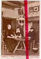 Orig. Knipsel Coupure Tijdschrift Magazine - Doornspijk - Intérieur , L'heure Du La Soupe - 1935 - Sin Clasificación