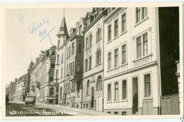Barmen (Wuppertal) 1961; Thorner Strasse - Gelaufen. (Fotokarte) - Wuppertal