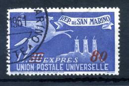 1947-48 SAN MARINO ESPRESSO N.20 USATO - Express Letter Stamps