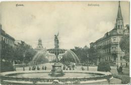 Bonn 1907; Kaiserplatz - Gelaufen. (Verlag?) - Bonn
