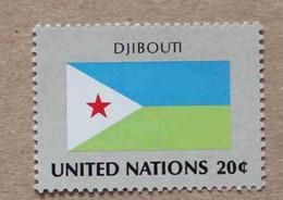 Ny81-01 : Nations-Unies (N-Y) / Drapeau Des Etats Membres De L'ONU - Djibouti - Neufs