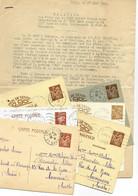 Texte Ronéotypé 1944 : Récit De L'arrestation Et De L'exécution De Policiers Par Les SS Au Fort De Vincennes - 1921-1960: Periodo Moderno