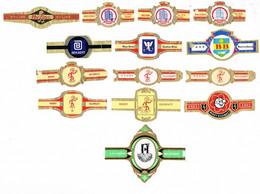 Reclame: Diverse B - Cigar Bands