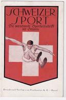 """""""Schweizer Sport"""" - Werbekarte  - 1925      (P-296-01005) - Pubblicitari"""