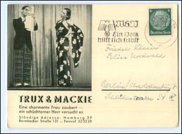 Y17998/ Trux & Mackie Zauberer  Variete AK Geschrieben V. Trux & Mackie - Altri