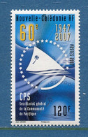 ⭐ Nouvelle Calédonie - Yt N° 994 ** - Neuf Sans Charnière - 2007 ⭐ - Ongebruikt