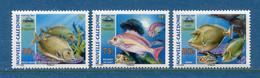 ⭐ Nouvelle Calédonie - Yt N° 998 à 1000 ** - Neuf Sans Charnière - 2007 ⭐ - Ongebruikt