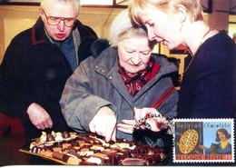 15199063 BE 19990605 Mons; Chocolat Belge; Produit Fini, Dégustation; CM Cob2827 - Ernährung