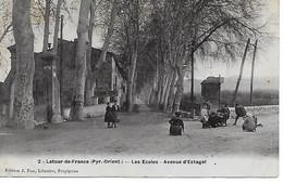 """Latour De France   Fau Email  Les Ecoles   """"les Joueurs De Billes"""" - Argeles Sur Mer"""
