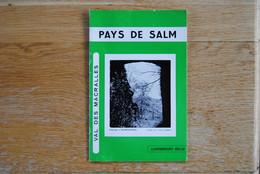3917/Pays De Salm-Vielsalm/Salmchâteau/Grand-Halleux...Val Des Macralles - Ohne Zuordnung
