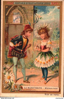 1 Chromos Liebig - S0274 S274  - La Marguerite - Femmes Fleurs - Lieb-046  R/V - Liebig