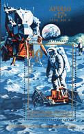 Raumfahrt Apollo 17 Ungarn Block 94 ** 5€ Fähre 1973 Raumschiff Zum Mond Bloque Hoja Ss Bloc Space Sheet Bf Hungary - USA