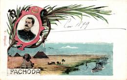 FACHODA Commandant Marchand Au Poste Militaire De Fachoda Soudan En 1898     Précurseur - Events