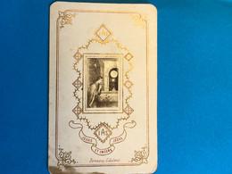 Holy Card Jesus Encore IHS Bonamy éditeur  Jesus Et Encore Jesus!avec Une Texté écrite Au Dessus - Devotion Images
