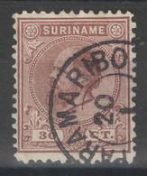 Surinam - YT 11 Oblitéré - 1873-88 - Suriname ... - 1975