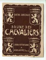 Ancienne étiquette Bière Brasserie Dubus-Deffontaines à Annappes 59 - Bier