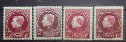 BELGIE  1929    Nr. 291 A - 291 D    Grote Montenez   Postfris **       CW 430,00 - 1929-1941 Gran Montenez