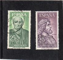 Espagne:  :  PA N°295  & 296 A Oblitérés - Oblitérés