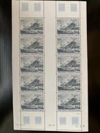 TAAF / FSAT PA N°47 PASSAGE DE COOK À KERGUELEN EN FEUILLE COMPLETE LUXE - Unused Stamps