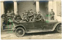 14-18.WWI Fotokarte - Technik Automobil XIV Armeekorps . MG . Tolle Aufnahme !!!! - 1914-18
