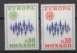 EUROPA CEPT 1972 NEUF ** 2TP MONACO - 1972
