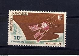 Polynésie  -  1966  -  Avion  :  Yv  19  ** - Unused Stamps