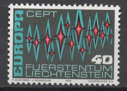 EUROPA CEPT 1972 NEUF ** 1TP JUGOSLAVIA - 1972