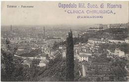 ITALIE OSPEDALE MILITARE CLINICA CHIRURGICA PAMMATONE GENOVA POUR MONACO 1915 - Zonder Classificatie