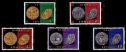 (295) Ethiopia / Ethiopie  Coins / Currency / Monnaies / Münzen  ** / Mnh  Michel 1234-38 - Etiopía