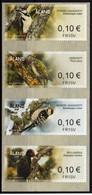 Aland Finnland ATM Woodpecker Birds Specht Vögel MNH Automatenmarken Distributeur Vending Stamps Kiosk CVP Frama - Aland