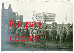 PHOTO FRANCAISE - LA MUSIQUE DU 140e RI A FLAVY LE MARTEL PRES DE CUGNY - JUSSY AISNE - GUERRE 1914 1918 - 1914-18