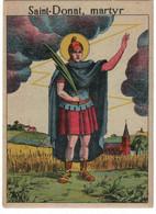 Saint Donat. Editeur François à Charleroi. - Devotieprenten