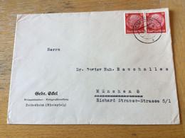 K15 Deutsches Reich 1940 Brief Von Deidesheim/Rheinpfalz Wein - Lettres & Documents