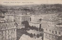 CARTOLINA VIAGGIATA GENOVA PIAZZA DEL POPOLO (ZK186 - Genova (Genoa)